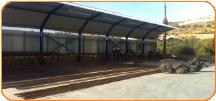 חומרי בנין ומפעל לעיבוד ברזל